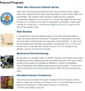 Click here to be redirected to the SE WI Natural Resource Page!