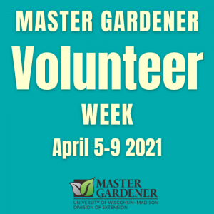 Master Gardener Volunteer Week